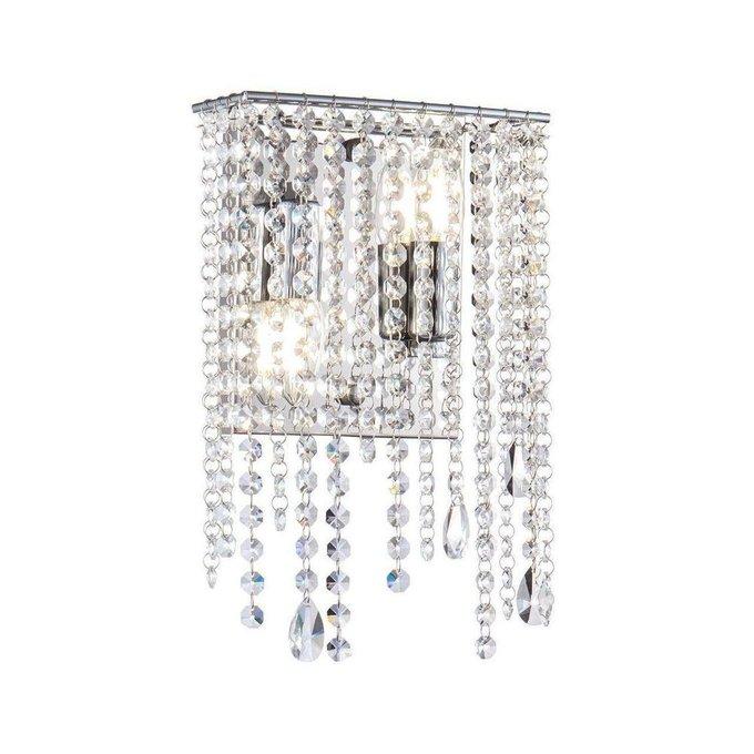 Настенный светильник Empress с хрустальными подвесками