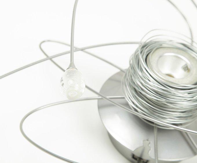 """Потолочный светильник Masca """"Atomo"""" с плафонами из прозрачного стекла"""