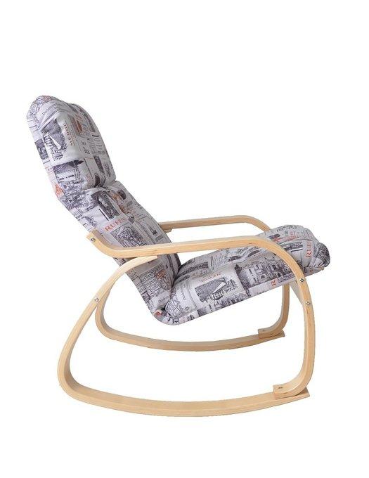 Кресло-качалка Сайма береза