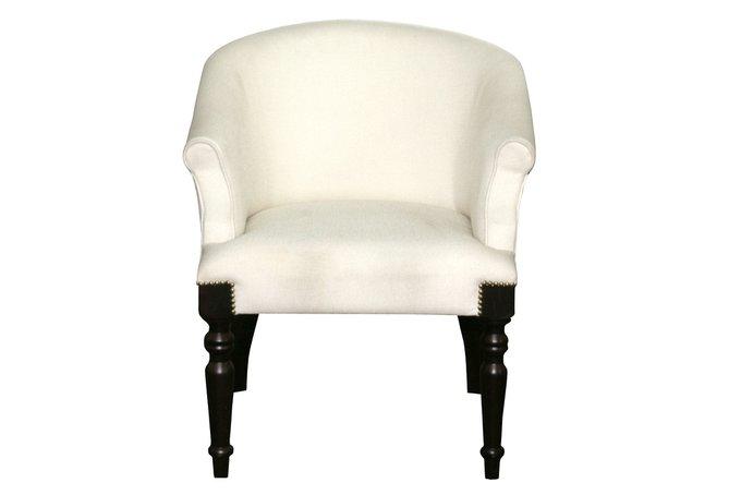 Кресло Hibbol белого цвета