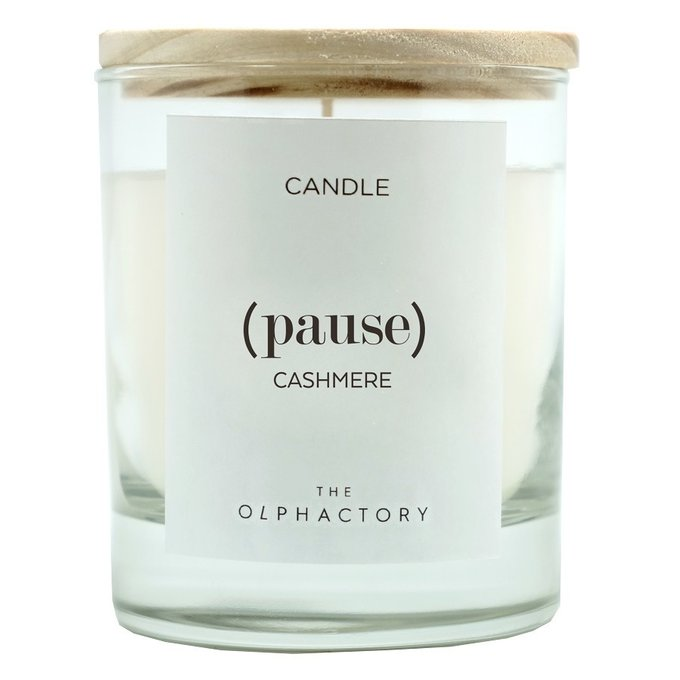Свеча ароматическая pause-Кашемир на 30 ч