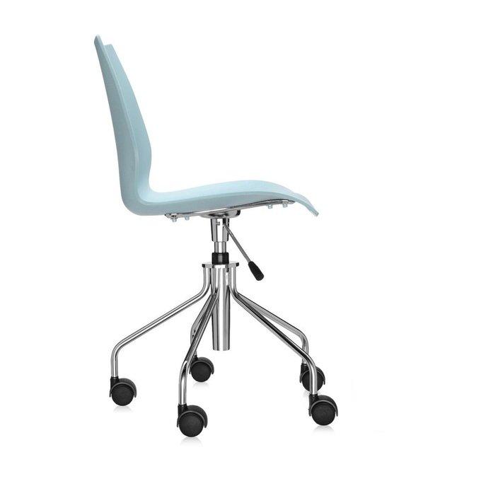 Офисный стул Maui голубого цвета