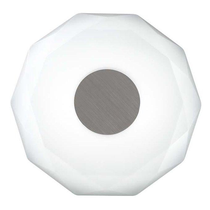 Настенно-потолочный светодиодный светильник Piola с плафоном из пластика