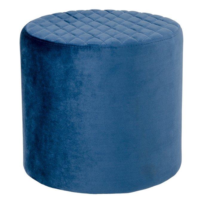 Пуф Ejby синего цвета