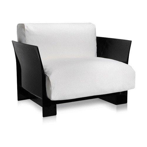Кресло Pop белого цвета