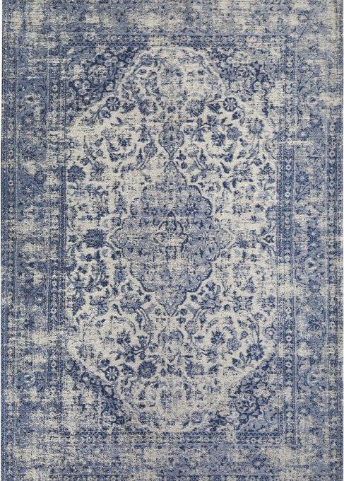 Ковер Sedef серо-синего цвета 200х300