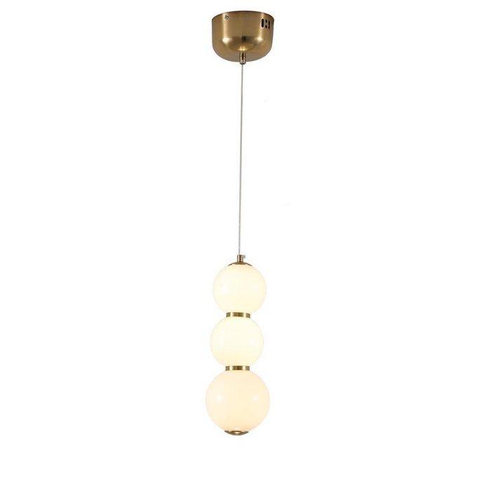 Подвесной светодиодный светильник Стин с белыми плафонами