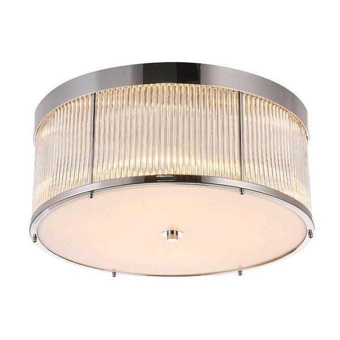 Потолочный светильник с прозрачным плафоном
