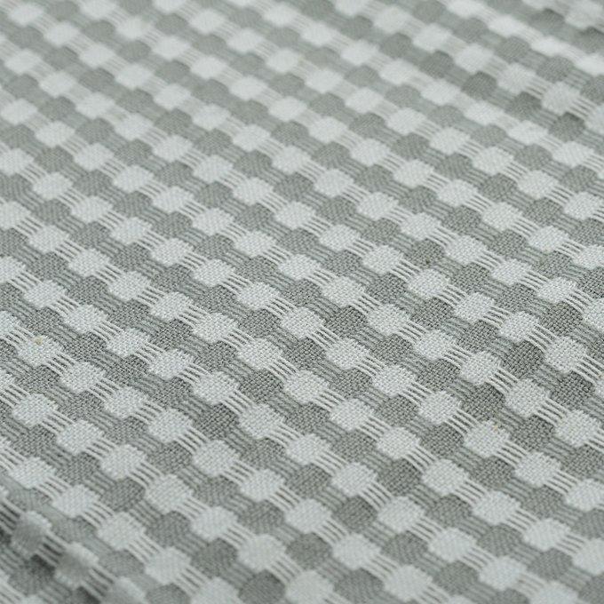 Набор вафельных кухонных полотенец Essential серого цвета