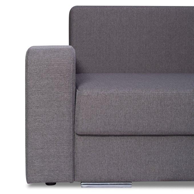 Угловой диван Эльд фиолетового цвета