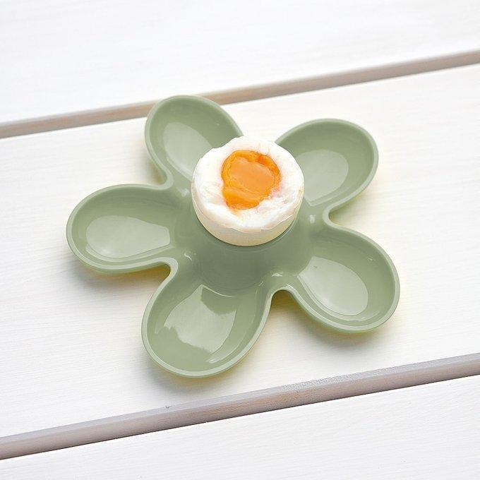 Подставка для яйца A-pril зеленого цвета