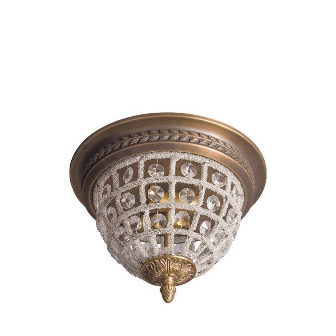 Потолочный светильник Herbert Small из металла и стекла