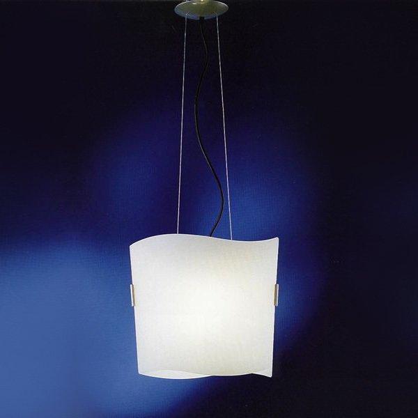 Подвесной светильник AVMazzega HUGO из стекла матового белого цвета