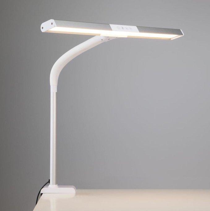 Настольная лампа Designer из металла и пластика