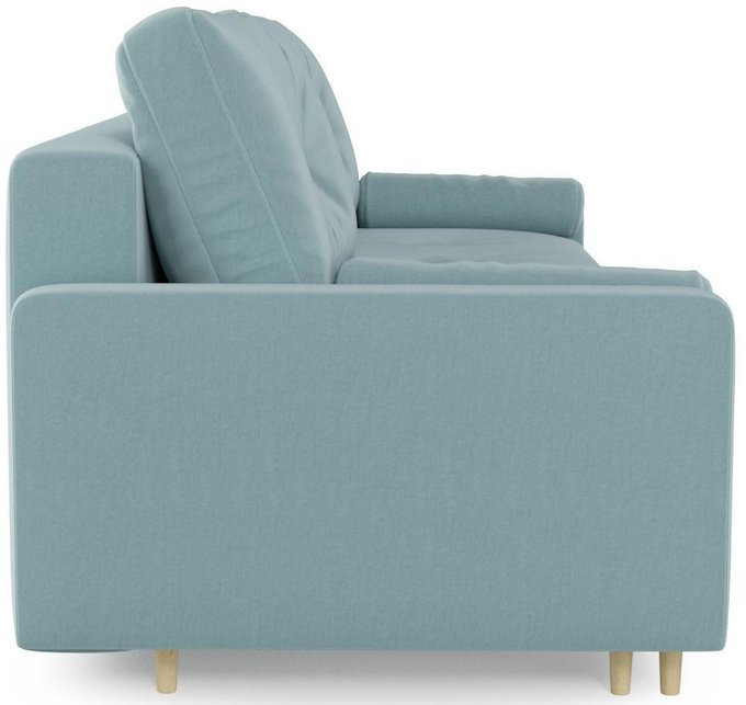 Диван-кровать Белфаст сине-серого цвета
