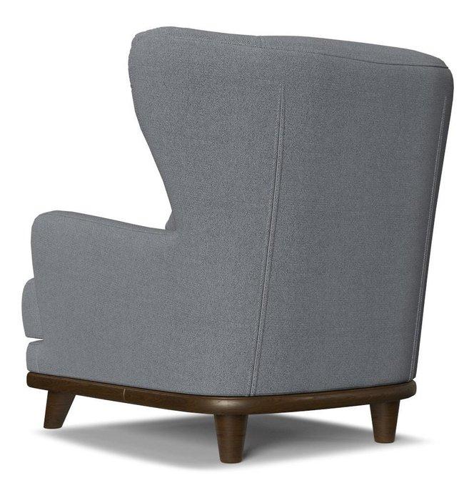 Кресло Роберт Azur голубого цвета