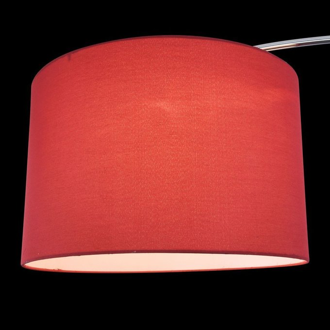 Торшер Nevada красного цвета