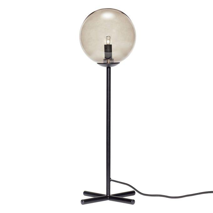 Настольная лампа Bulb  с дымчатым плафоном