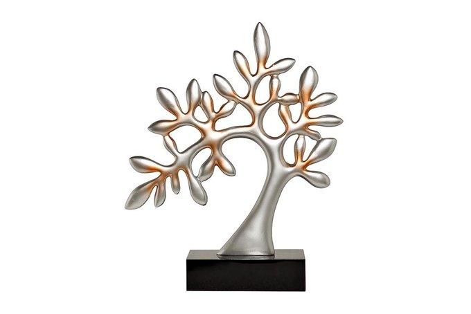 """Статуэтка """"Дерево"""" серебряная на подставке"""
