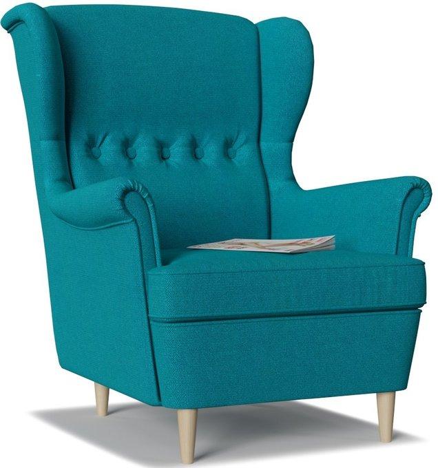 Кресло Торн Azur голубого цвета