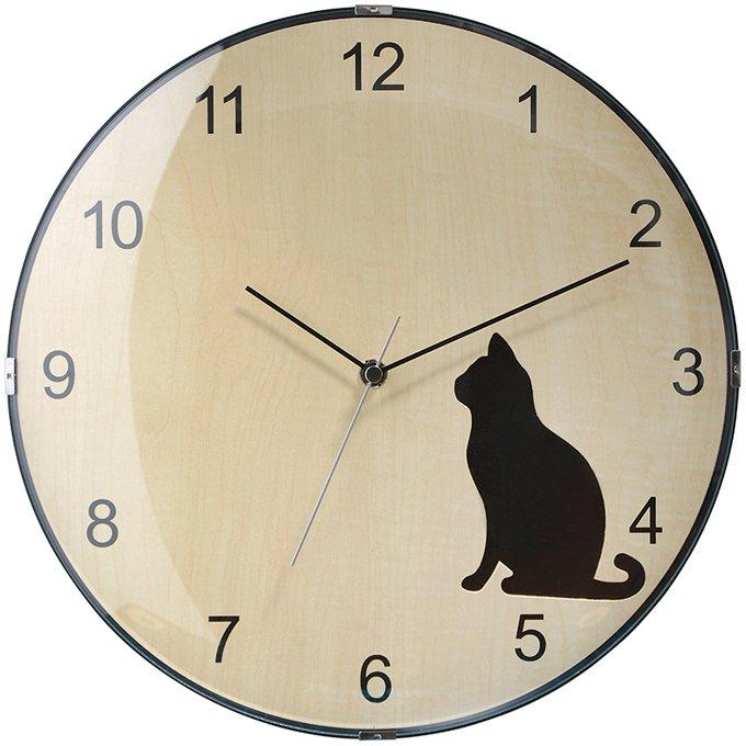 Настенные часы Prague бежевого цвета