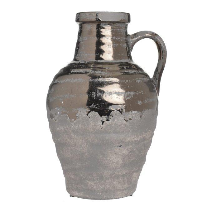 Керамическая ваза с ручкой
