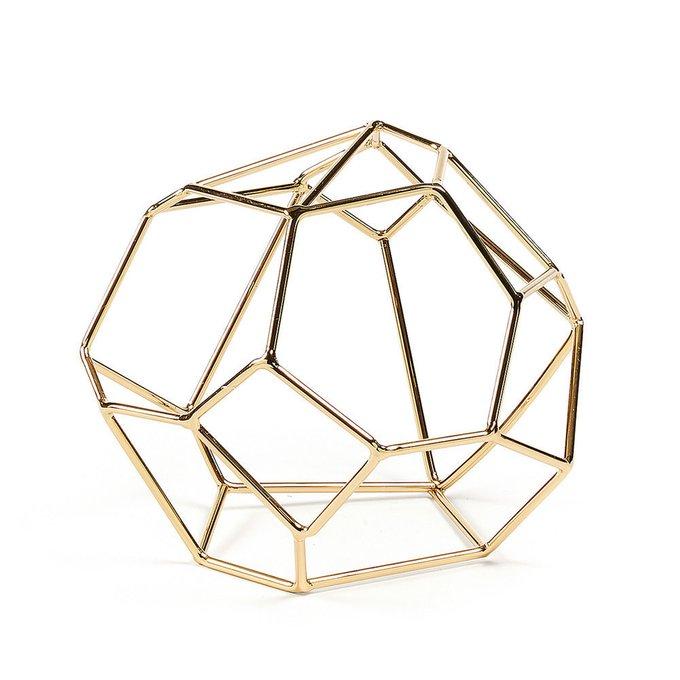 Геометрическая фигурка Barrell золотого цвета