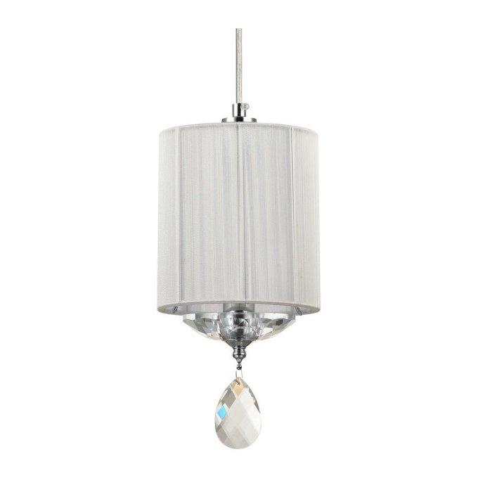 Подвесной светильник Miraggio с белым абажуром
