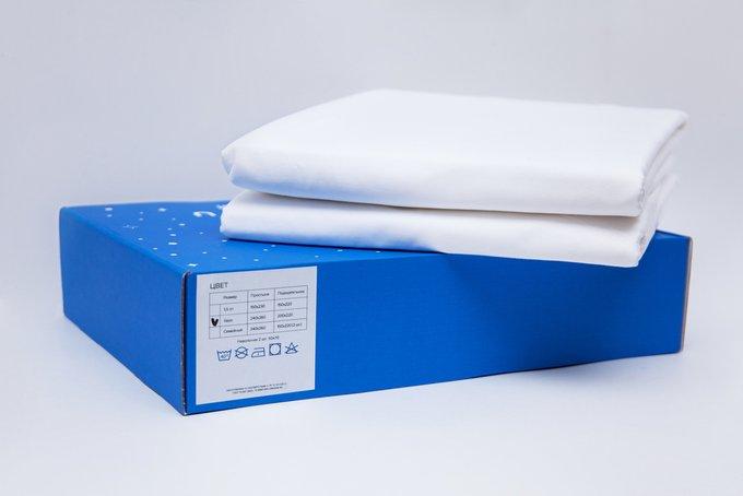 Комплект постельного белья Satin White 240х260 семейный