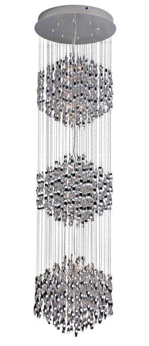 Каскадная люстра ST Luce Piovera в стиле арт-деко