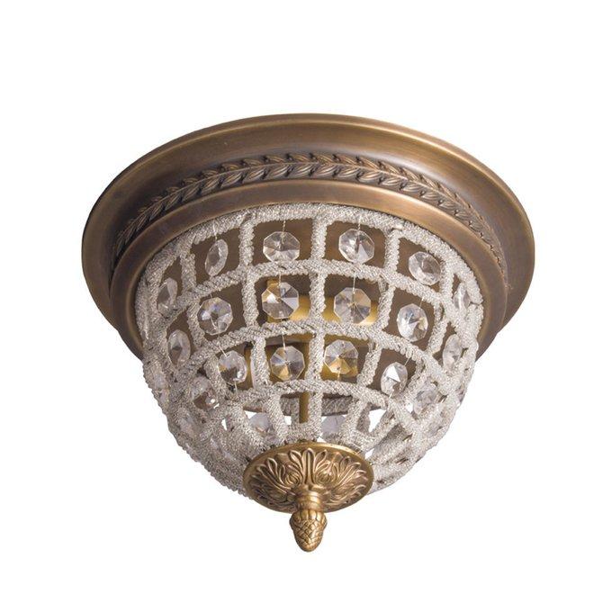 Потолочный светильник Herbert Medium из металла и стекла