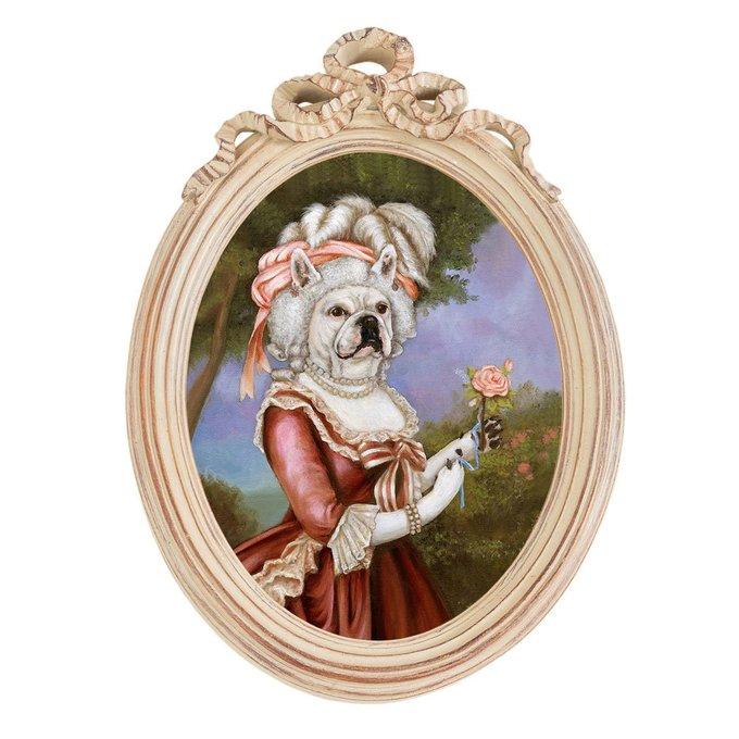 Репродукция Эрмитаж версия 44 Мария-Антуанетта с розой