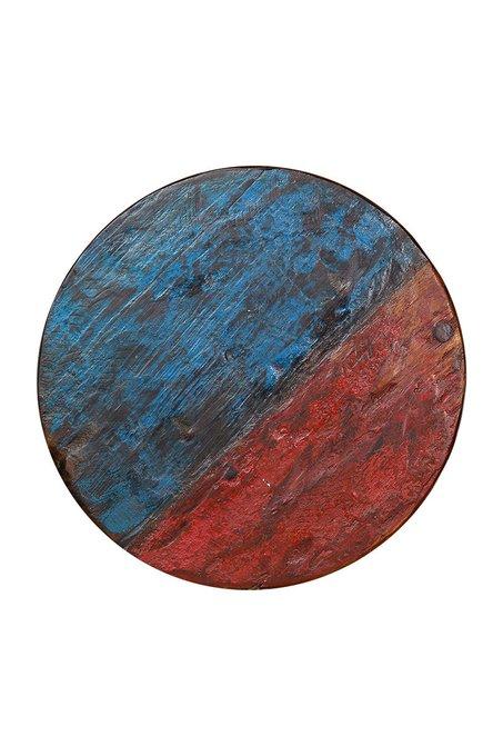Табурет Кинг из массива древесины рыбацкого судна