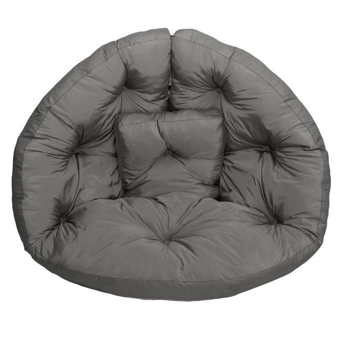Кресло-футон серого цвета
