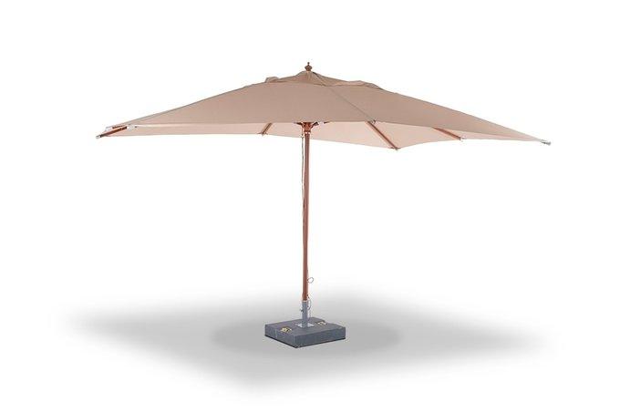 Зонт Джулия  на центральной опоре из дерева