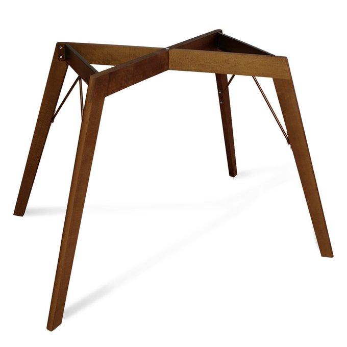 Стол обеденный со столешницей цвета голубой бетон