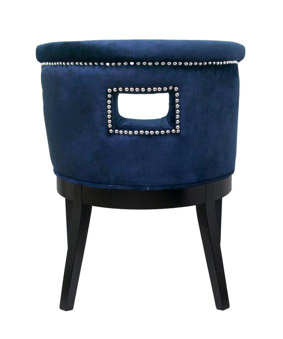 Кресло Chamberlain синего цвета