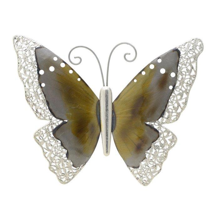 Декор настенный Бабочка из металла