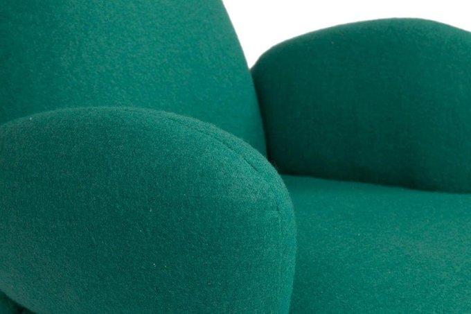 Кресло Bottle Chair зеленого цвета