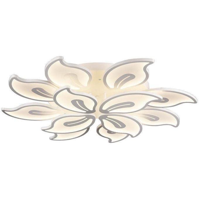 Потолочная светодиодная люстра Frederica белого цвета