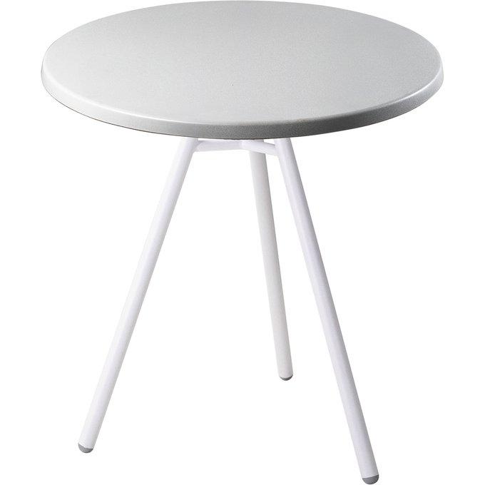 Обеденный стол Март brushed silver