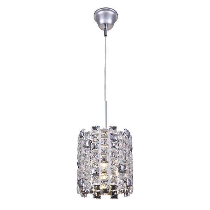Подвесной светильник Jemima с плафоном из хрусталя