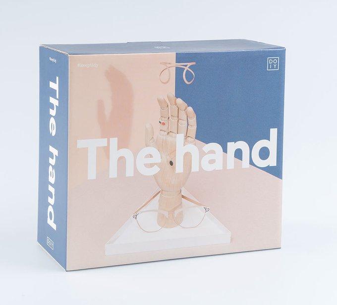 Органайзер для украшений the hand белый