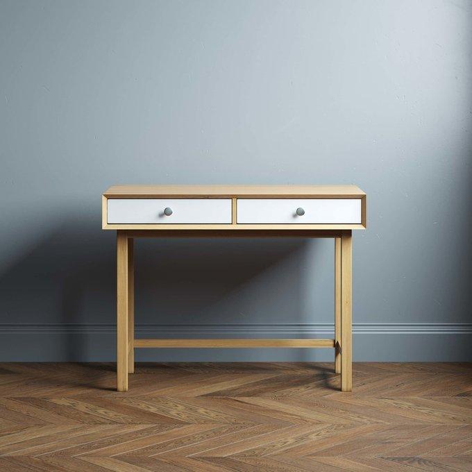 Письменный стол Lira mini 100х60 с двумя ящиками