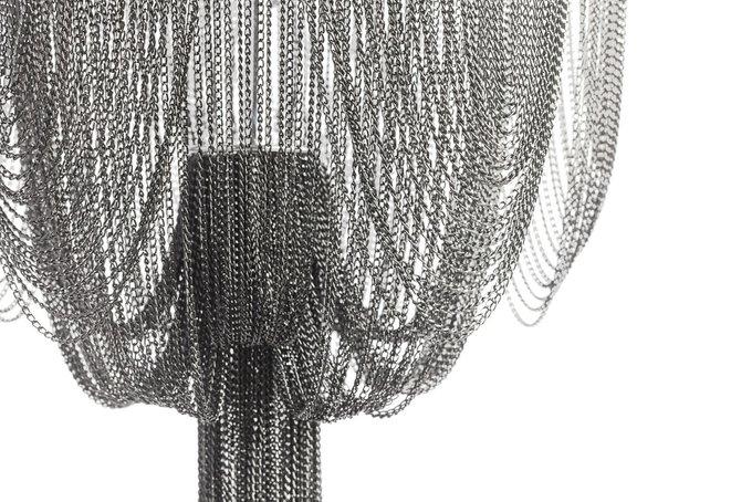 Подвесная люстра Ravenna серебряного цвета
