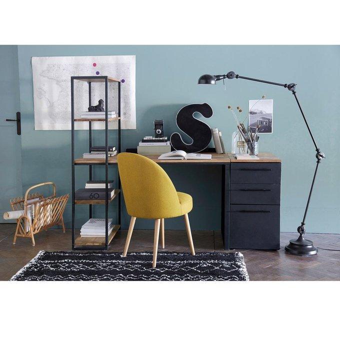 Комплект из двух стульев Quilda желтого цвета