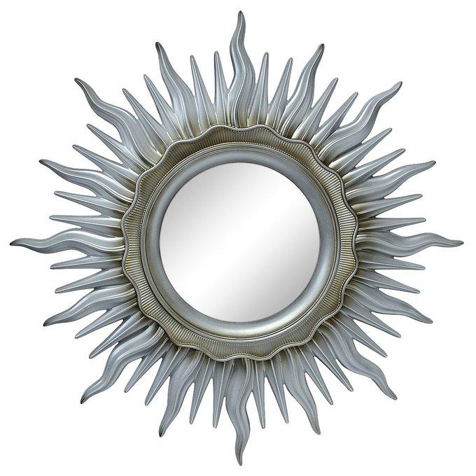 Зеркало Ринд Серебро патина