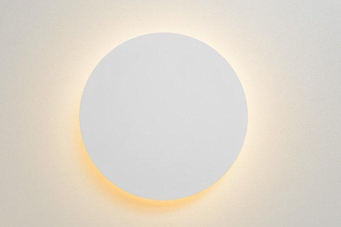 Настенный светодиодный светильник Eklyps Led белого цвета