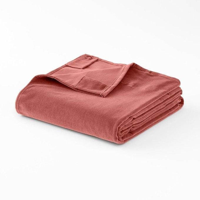 Штора Velvet из велюра розового цвета
