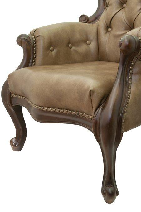 Кресло Madre brown коричневого цвета